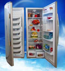 Two-cell refrigerators