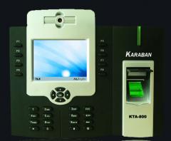 دستگاه حضور و غياب كارابان  KTA700