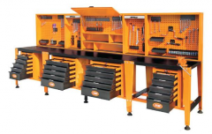 Machines for cleaning and greasings mould