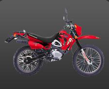 موتورسیکلت چهار زمانه تک سیلندر۲۰۰ سی سی