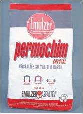 Sealing powder materials