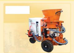 دستگاه شاتکریت خشک T260