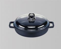 Frying pans aluminium cast