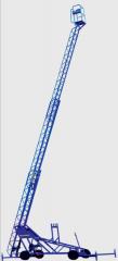 نردبانهای کشوئی چرخ دار : DML & DMLR