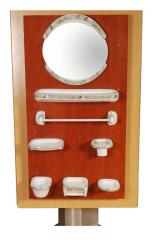 آیینه دستشویی مدل هليانتوس