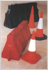 Cones, traffic, flexible