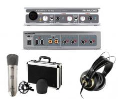 The sound recording industrial and studio