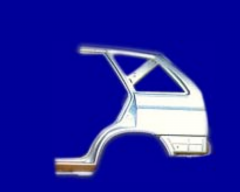 Hump brakes (delay elements) of railroad cars with