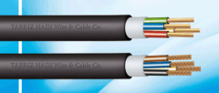Inflaxible PVC insulated