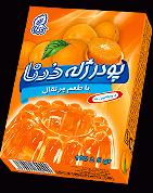 پودرژله پرتقالي