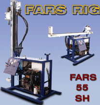 Heliportable Hydraulic Drilling Machine Fars 55 SH