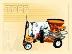 T262 دستگاه شاتكريت