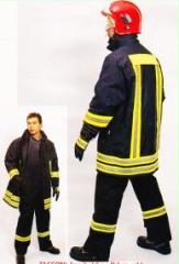 لباس عملياتي مبارزه با حريق