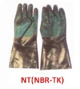 دستكش آستر دار نيتريلي مدل  NT NBR-TK