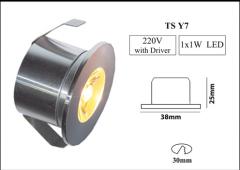 چراغ LED با روشنایی پایین