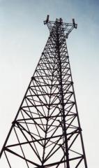 Telephone transmission towers