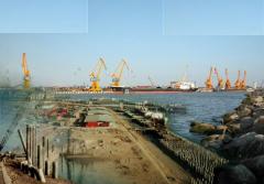 اسکله های فلزی و سازه های دریایی