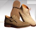 کفش پوتینی چرمی مردانه
