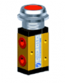 Manually actuated valve