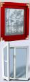 انواع پنجره   U-PVC