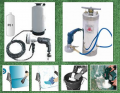 Equipment for washing of carpets