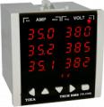 آمپرمتر ولتمتر سه فاز مدل TD - 1540