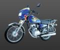 موتورسیکلت چهار زمانه تک سیلندر۱۲۵ سی سی
