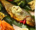 ماهی قزل الا (سرخ شده)