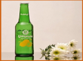 بطر سبز چاپی لیموناد