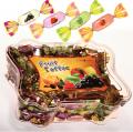 تافی میوه ای - بسته بندی کریستال پروانه ای