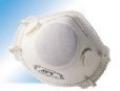 ماسك سوپاپ دار سفيد با درجه فيلتراسيون FFP2   مدل   JFY 7121