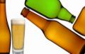 بطری سبزرنگ  مخصوص نوشیدنی آبجو