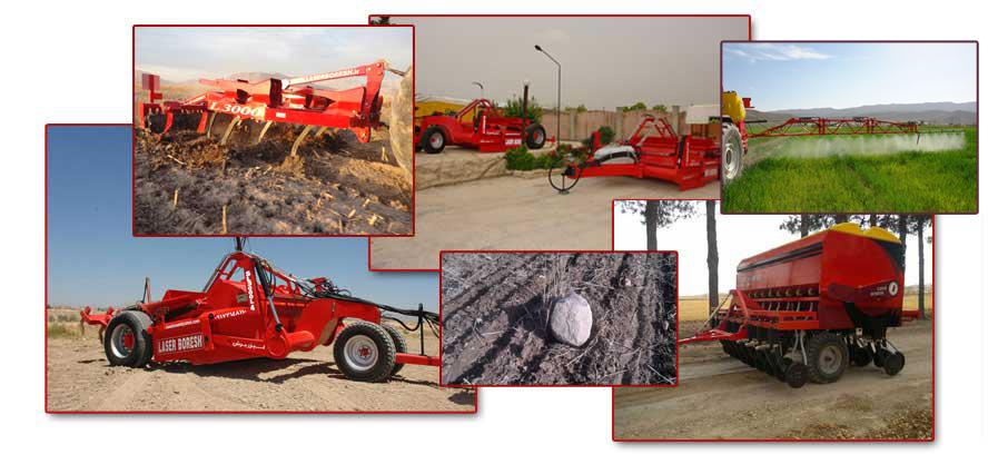سفارش طراح و تولید کننده ماشین آلات کشاورزی
