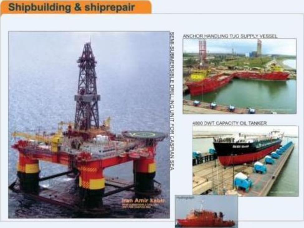 سفارش پروژه های جاری کشتی سازی
