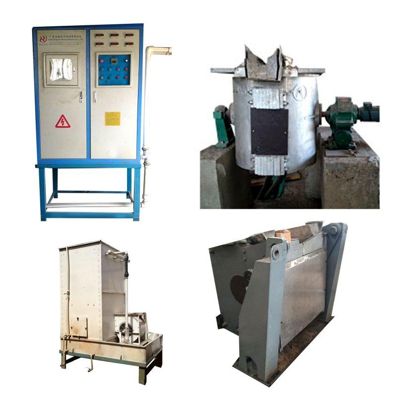 سفارش فروش یک دستگاه کوره القایی نو ساخت 2014 چین - 200 کیلو گرمی