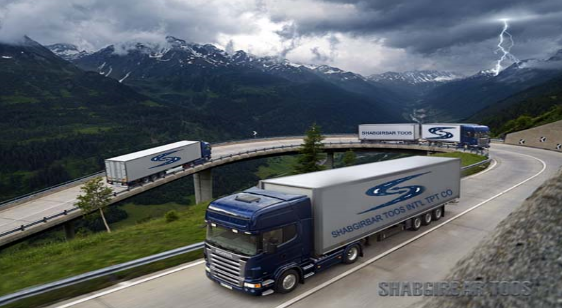 سفارش حمل کالا های ترانزیتی و صادراتی