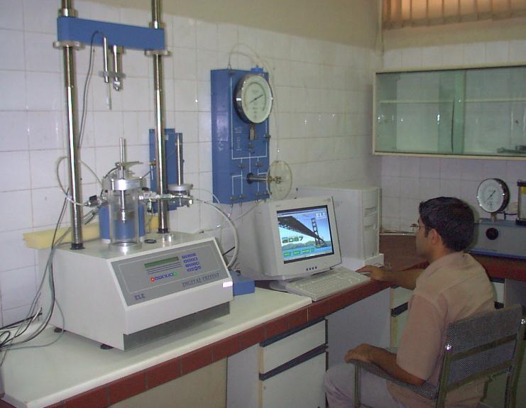 سفارش آزمایشگاه مکانیک خاک، دارای گواهینامه صلاحیت حرفه ای آزمایشگاهی از وزارت مسکن و شهرسازی