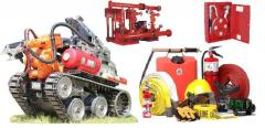 سیستم های اعلام و اطفاء حریق  تجهیزات ایمنی و آتش نشانی