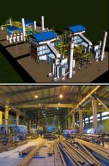 طراحی، ساخت و نصب سازه های سنگین فولادی