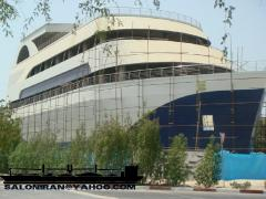 Investment commercial buildings similar ship in iran
