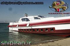 Ship restaurant aquarium glass floor 70 passengers in iran for sale