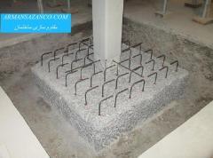 مقاوم سازی - برش بتن - کاشت  سازه با frpمیلگرد و بولت در بتن مسلح - تقویت