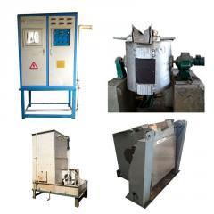 فروش یک دستگاه کوره القایی نو ساخت 2014 چین - 200 کیلو گرمی