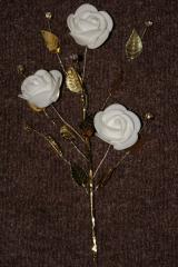 Production of artificial flowers rhinestones three-dimensional paintings