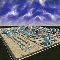 مدیريت مهندسي پروژه، پالايشگاه گاز فازهاي 17 و 18