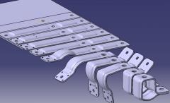 سازه فلزی ماشین آلات پروژه های صنعتی