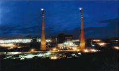 عملیات ساختمانی بخش گاز نیروگاه چرخه ی ترکیبی کازرون