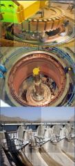 نصب و راه اندازی تجهیزات الکتریکی برای مارون 1 نیروگاه آبی