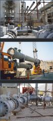 EPC مبدل حرارتی و انبساط توربین در پروژه 900 و 1000 NGL پروژه