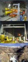 نصب و راه اندازی کانالهای  گازکارون 3   SF6  نیروگاه